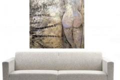 Woman 150x120 cm Inge en Gilbert
